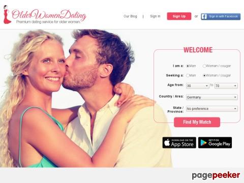 Granny dating site